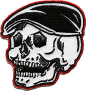 Kruse Rodder Skull Patch Image