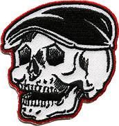 Kruse Rodder Skull Patch Image