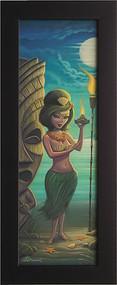 Aaron Marshall Hula Girl Fine Art Print