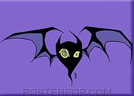Forbes Bat Fridge Magnet Image