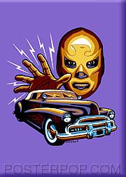 Almera Masquerado Fridge Magnet Image