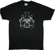 Almera Psychobilly Rat Rod T Shirt