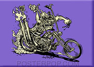 Von Franco Murdercycle Fridge Magnet Image