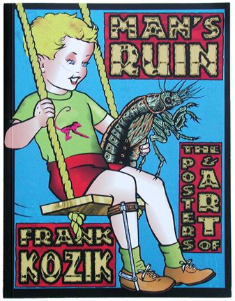 Kozik Mans Ruin Soft Cover Book Image
