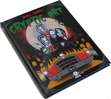 Pigors Cryptic Art Book Hard Cover Signed Image