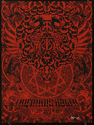 Forbes The Mars Volta 2008, New Orleans Silkscreen Concert Poster Image