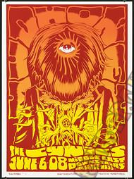 Forbes Mudhoney 2008 Cambridge MA Silkscreen Concert Poster