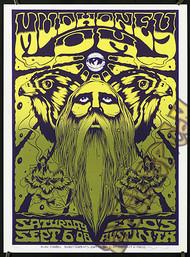 Forbes Mudhoney 2008 TX Silkscreen Concert Poster Image
