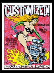 Coop Customized Art Show San Diego Silkscreen Poster image