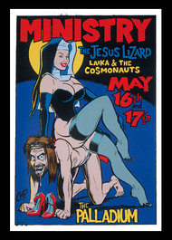 Coop Ministry Silkscreen Concert Poster 1996 Image