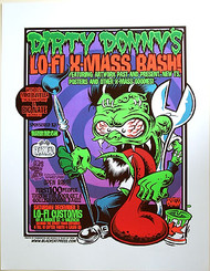 Dirty Donny Lo-Fi Art Show Silkscreen Poster 2006 Image