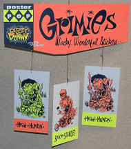 Dirty Donny Grimies Silkscreened Hanging Mobile 2007 Image