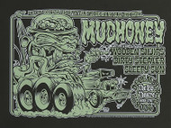 Dirty Donny Mudhoney Silkscreen Concert Poster 2008 Image