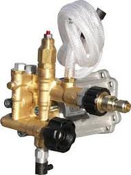 "AR Pressure Washer Pump RMV25G30D3000 PSI 3/4"" w/ Plumbing"