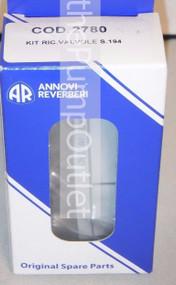 AR 2780 Annovi Reverberi Check Valve Kit XW XWT XWL XWLA Pressure Washer Pumps *Genuine AR part