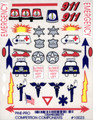 Pine-Pro - 10023 Emergency Vehicle Decal - 10023