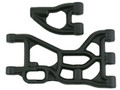 RPM RC Products - Black Baja 5b 5t Rr Upper And Lower A Arms - 82252