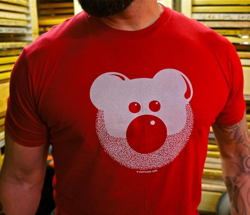 BEARDY BEAR RED