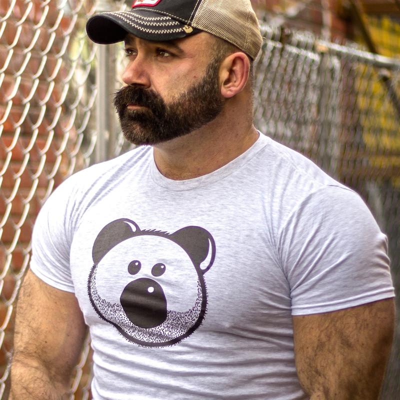 BEARDY BEAR ASH T