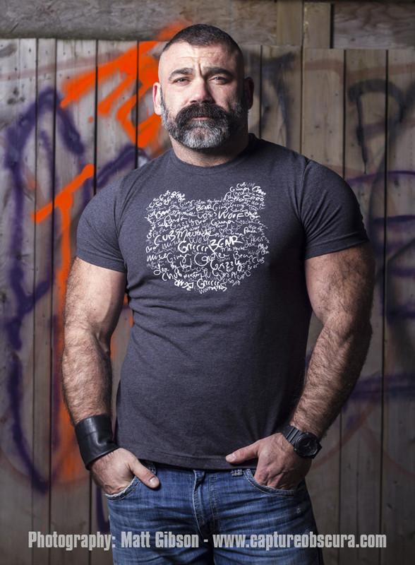 Graffiti Bear Charcoal
