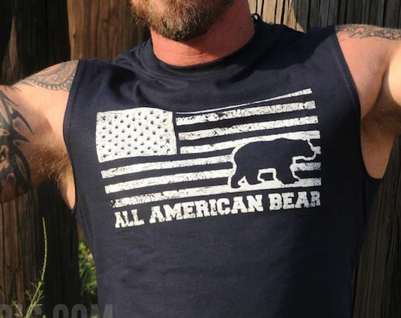 All American Bear Sleeveless T