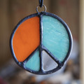 Stained Glass Peace Sign 29