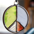 Stained Glass Peace Sign 67