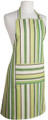 Ashcroft Stripe Bib Apron With Pocket and Adjustable Neck