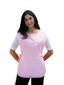 Pink No Pocket Cobbler Apron Available in Four Great Unisex Sizes S, Reg, XL and XXL Item # 350-400NP