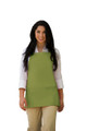 "Sage Green Three Pocket Restaurant Quality Bib Apron with Adjustable Neck Strap - 24"" H x 28"" W - Item # 350-200 - Best Seller!"
