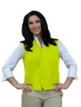 Lime Two Pocket Unisex Uniform Vest Available in Sizes Small to 5XL -  Item # 350-742