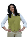 Sage Two Pocket Unisex Uniform Vest Available in Sizes Small to 5XL -  Item # 350-742