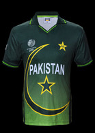 Official Pakistan Cricket World Cup Jersey 2011