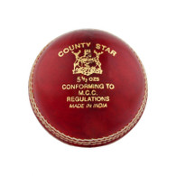Gunn & Moore County Star Red Cricket Ball