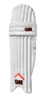 Dual winged, ambidextrous pad suits right handed or left handed batsmen. Triple vertical internal bolsters for added protection, comfort and fit.