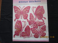 Glitter Butterfly Wall Stickers