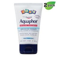 Aquaphor Baby Healing Ointment (from Eucerin) 3 oz - Pack of 2 -萬用嬰兒護膚乳霜, 3 oz 輕便裝 (兩支裝)