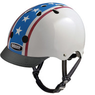 - Nutcase Helmet, Americana, Bicycle Helmets  - 單車頭盔 | LOTUSmart (HK) Hong Kong - 香港樂濤 - Front View with Visor