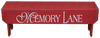 Shown in Old Red with optional lettering on the side from a 9x36 signShown in Old Aqua with optional lettering on the top from a 7x36 sign