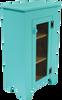 Shown in Solid Aqua with a screen door