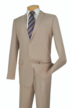 Executive 2-Button Slim Fit Suit - 5 Colors Available