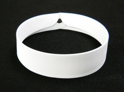 Clerical Collar #3 With Stud Set - 1 1/2 inches
