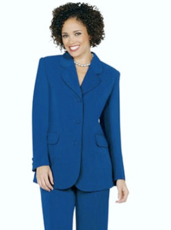 Women's 2-Piece Pant Suit 001 - 4 Colors Available