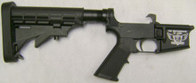 USA-15 (AR-15) Lower receiver with Standard trigger assembly and 6 position Buttstock