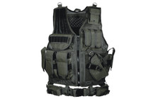 Law Enforcement Tactical Vest - Black