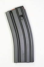 30 Round Magazine 5.56 Stainless Steel Black
