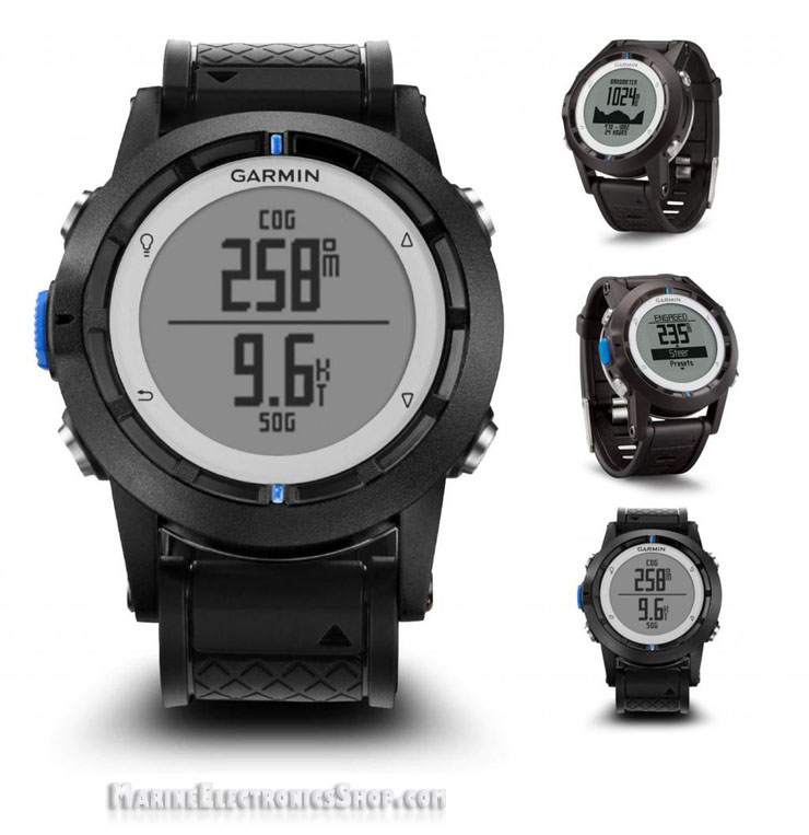 Garmin Quatix All Sides View