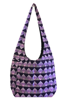 Signature bag short: Purple