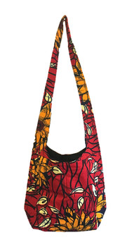 Signature bag: Red flower (medium strap)
