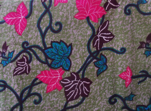 Fabric: Spring Leaves